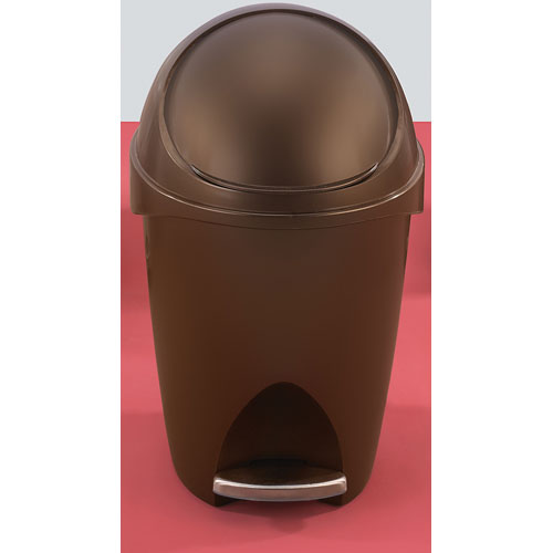Umbra Visor Trash Can Bronze In Small Trash Cans
