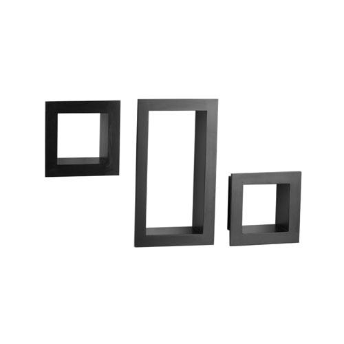 frame cube shelving in wall mounted shelves. Black Bedroom Furniture Sets. Home Design Ideas