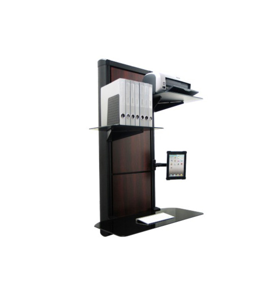 wall mount desktop in desks and hutches