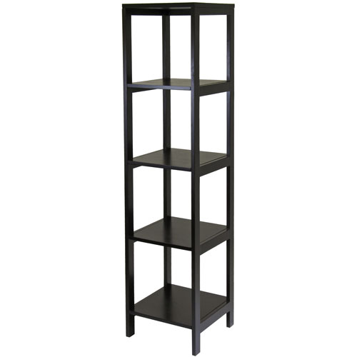 Hailey Display Shelf Espresso In Free Standing Shelves