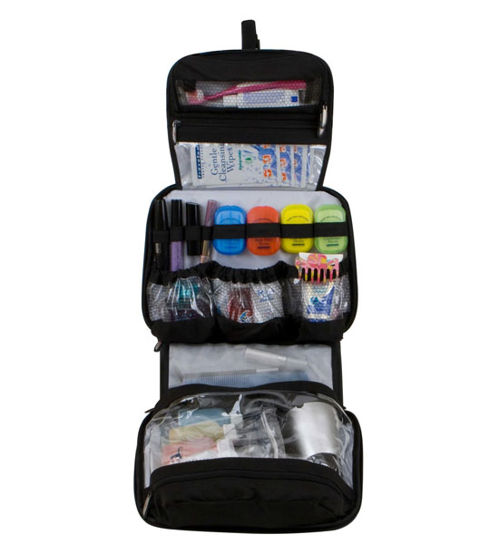 ... Toiletry Organizers > Hanging Cosmetic and Toiletries Travel Organizer