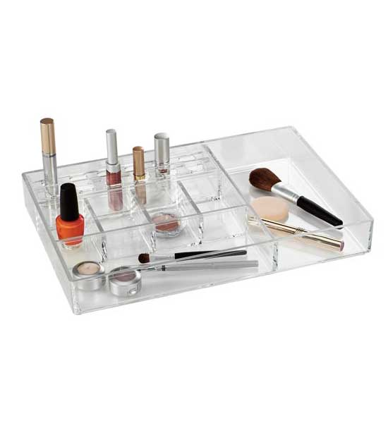 Acrylic Makeup Organizer Large In Cosmetic Organizers
