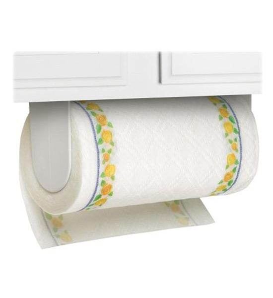 Adhesive Mounted Paper Towel Holder in Paper Towel Holders