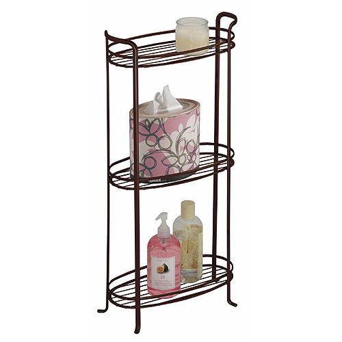 3 tier bathroom shelf bronze in bathroom shelves