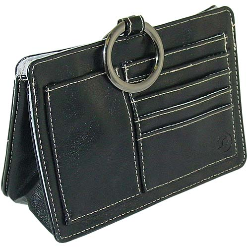 Product Features 2 back slip pockets outside Double adjustable top handles Pebble leather.