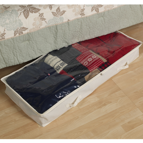 canvas under bed storage box in under bed storage. Black Bedroom Furniture Sets. Home Design Ideas