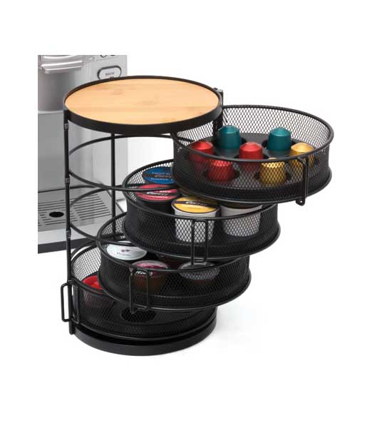 Coffee Pod Holder In Tea And Coffee Storage