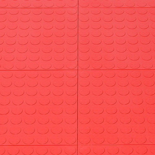 interlocking garage floor tiles coin pattern set of 40 in garage floor protection. Black Bedroom Furniture Sets. Home Design Ideas