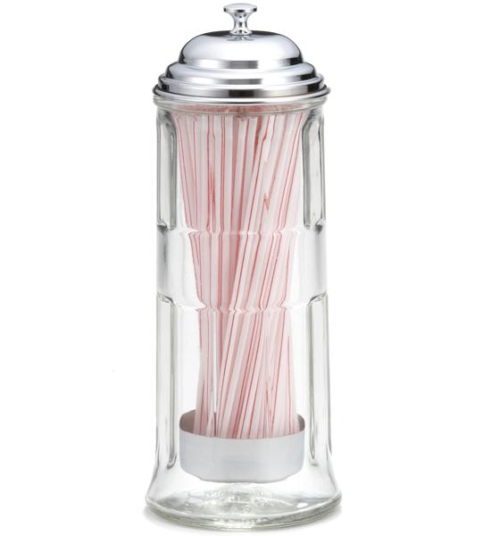 Diner Straw Dispenser In Kitchen Utensil Holders