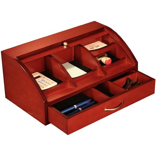 Roll top desk organizer in desktop organizers - Best desk organizers ...
