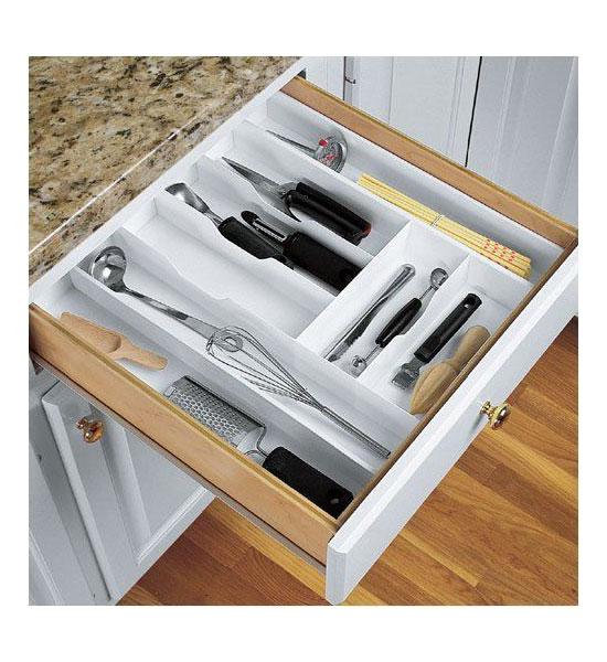 Expand A Drawer Large Cutlery Organizer In Kitchen Drawer Organizers