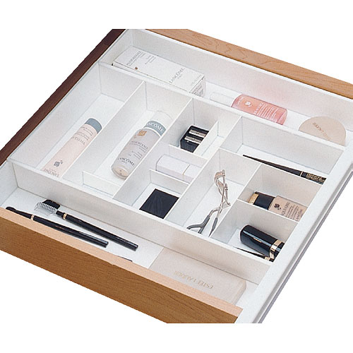 expand a drawer vanity organizer in cosmetic drawer organizers