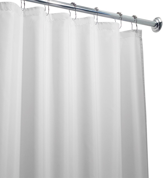 Extra Long Shower Curtain Liner In Shower Curtains And Rings