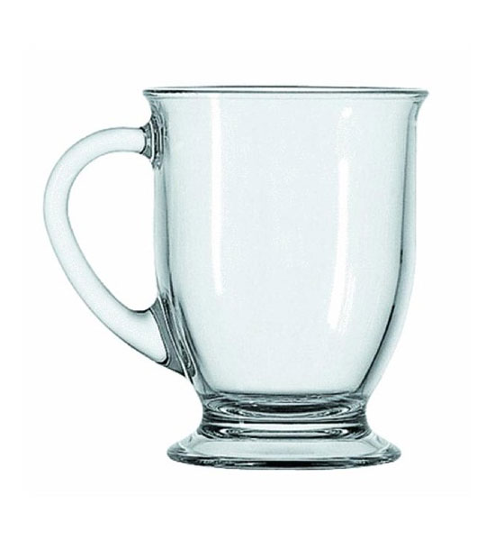 Glass Coffee Mug Anchor Hocking In Coffee Mugs