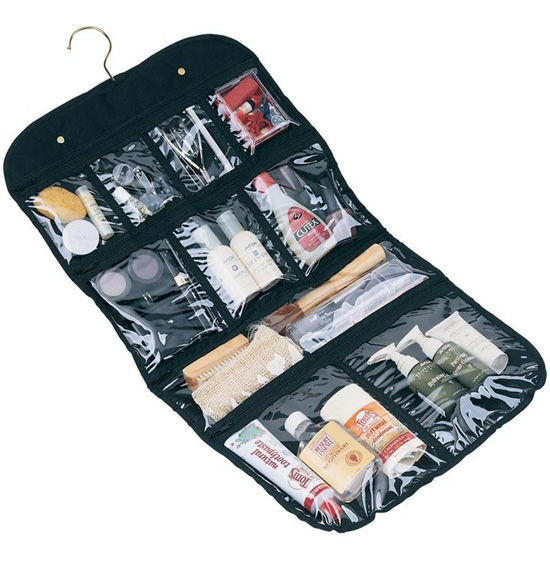 ... Luggage > Travel Toiletry Organizers > Hanging Toiletries Organizer