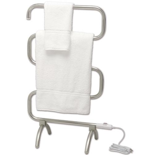 Classic Warmrails Towel Rack Satin Nickel In Towel Warmers