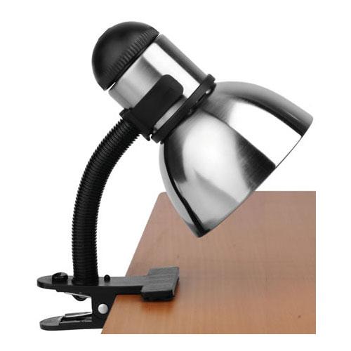 home lighting desk lamps henrik adjustable clip on desk lamp. Black Bedroom Furniture Sets. Home Design Ideas