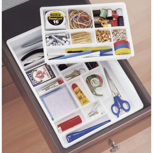 Organization Ideas For Junk Drawers: Junk Drawer Organizer In Desk Drawer Organizers