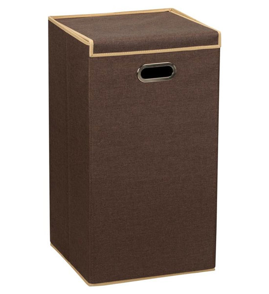 Laundry Hamper With Lid Coffee In Clothes Hampers