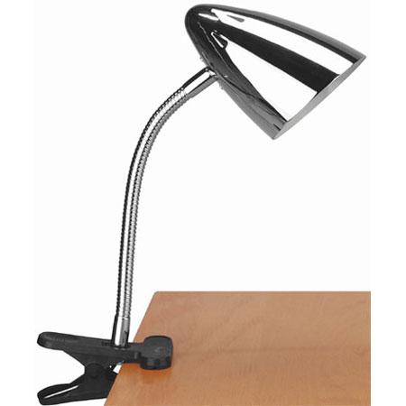 home lighting desk lamps bullet clip on reading lamp chrome. Black Bedroom Furniture Sets. Home Design Ideas
