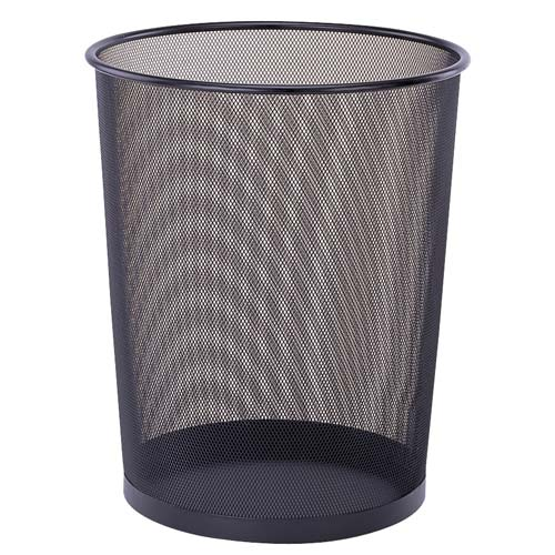 Mesh Waste Basket In Small Trash Cans