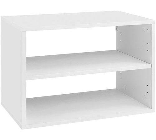 Freedomrail O Box Shelf Unit White In Freedomrail O Boxes
