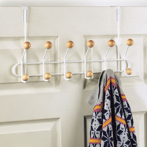 12 hook over the door coat rack in over the door hooks
