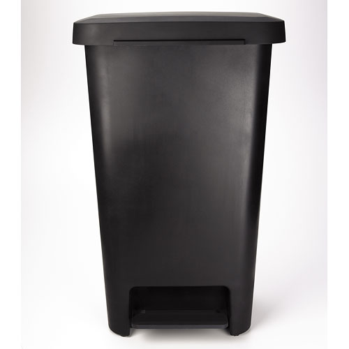 Oxo 11 Gallon Kitchen Trash Can Black In Kitchen Trash Cans