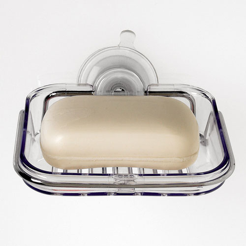 Oxo Good Grips Suction Bath Soap Dish In Soap Dishes