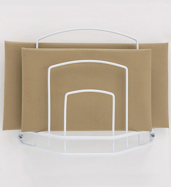 Paper Bag Holder White In Plastic Bag Recyclers