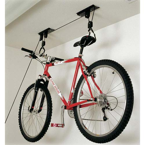 Hoist Monster Bike Storage Rack In Ceiling Bike Storage
