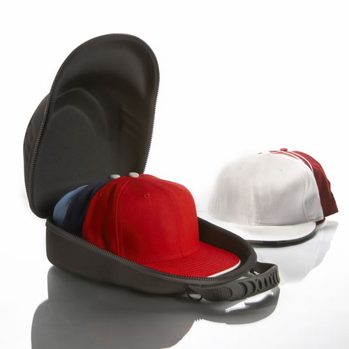 baseball hat travel and storage case in baseball hat racks