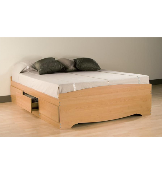 Queen platform storage bed in beds and headboards Queen bed and mattress