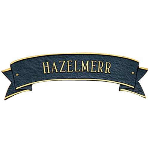 Ribbon Personalized Name Plaque In Specialty Plaques