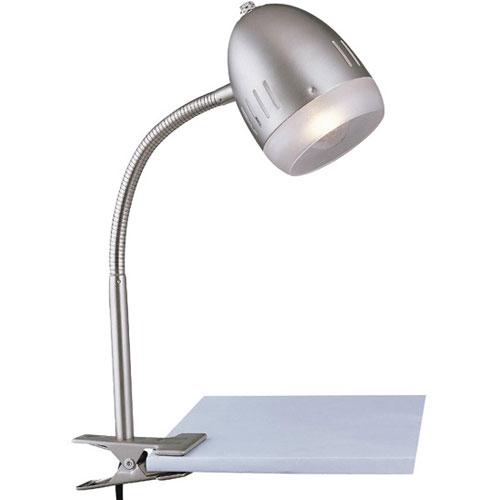 home lighting desk lamps sanka clip on reading lamp white. Black Bedroom Furniture Sets. Home Design Ideas