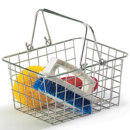 Enjoy free shipping on all purchases over $75 and free in-store pickup on the Small Wire Storage Basket at The Container Store. Our Small Wire Basket brings a touch of urban sophistication to any room. Made from epoxy-coated steel, it's perfect for corralling everything from snack bars in the pantry to soaps and lotions in the bath. And what a fun way to give a gift!5/5(1).