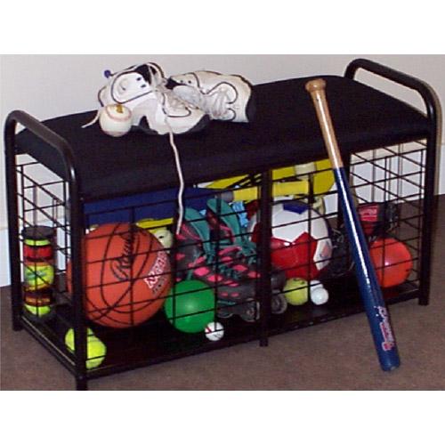 Garage Sports Organizer: Sports Bench Organizer In Sports Equipment Organizers