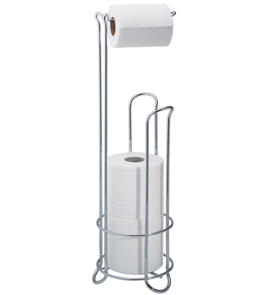 Toilet Paper Holder Stand Chrome In Toilet Paper Stands