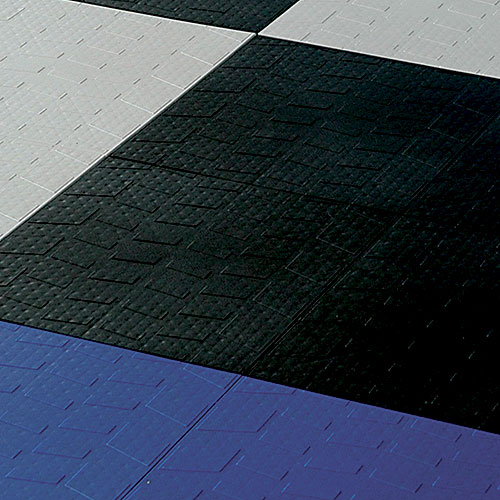 interlocking garage floor tiles tire tread set of 40 in garage floor protection. Black Bedroom Furniture Sets. Home Design Ideas