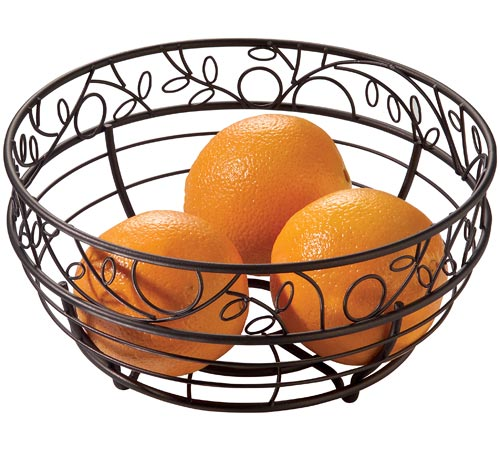 ... Countertop > Bread and Fruit Baskets > Twigz Fruit Bowl - Antique