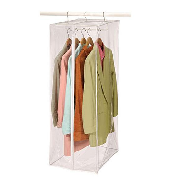 vinyl suit bag in garment bags