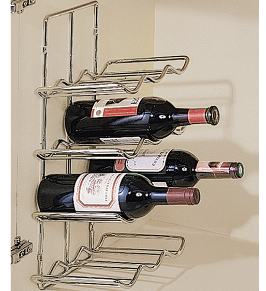 wall mounted wine rack 12 bottle in wine racks and cabinets