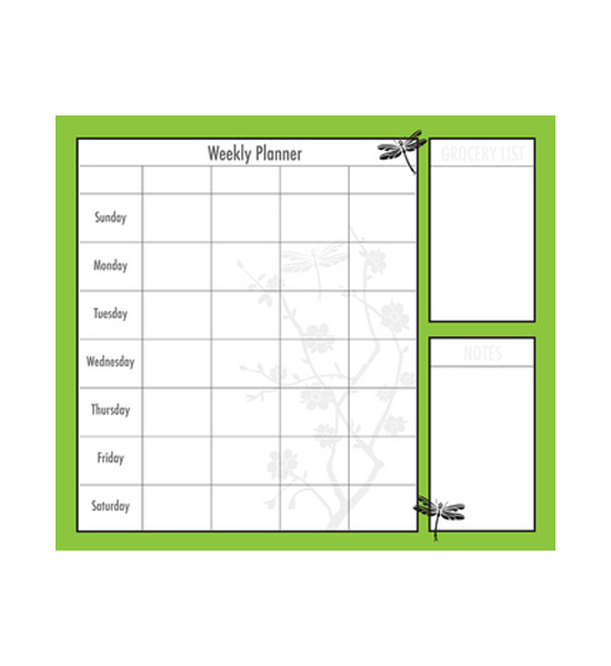 Calendar Planner Asp : Weekly planner lime blossom in calendars and planners