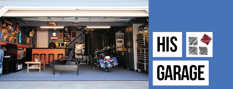 Organizers for His Garage
