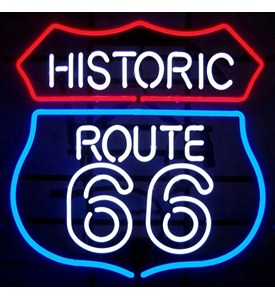 Historic Route 66 Neon Sign by Neonetics Image