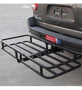 Hitch Mounted Cargo Carrier - Rooftop Carrier Image