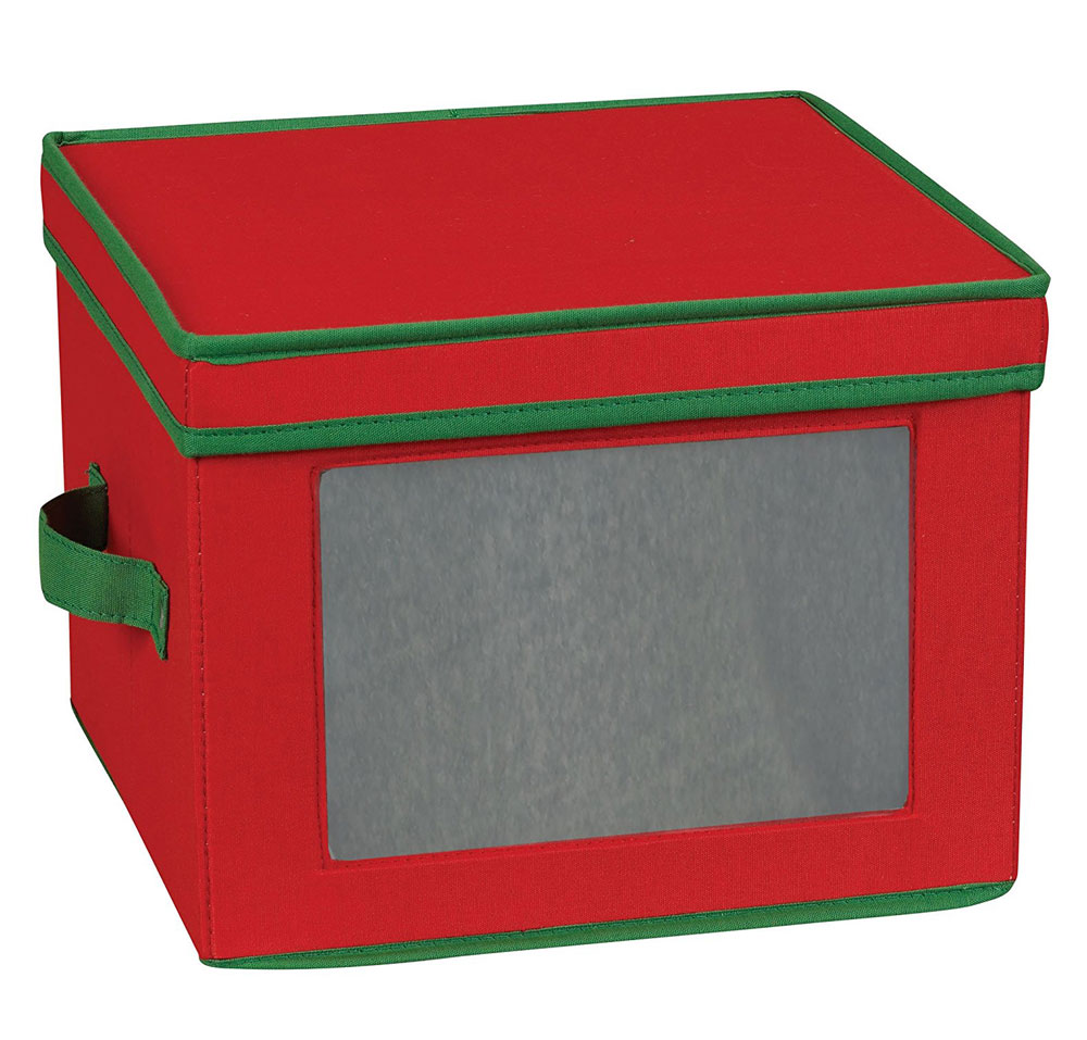 holiday dinner plate storage box