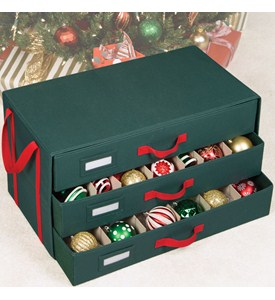 Holiday Ornament Storage Box Image