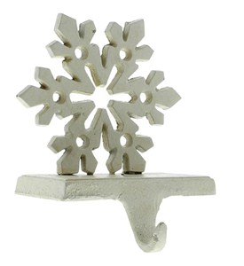 Holiday Stocking Hanger - Snowflake Image