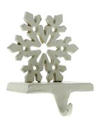Holiday Stocking Hanger - Snowflake